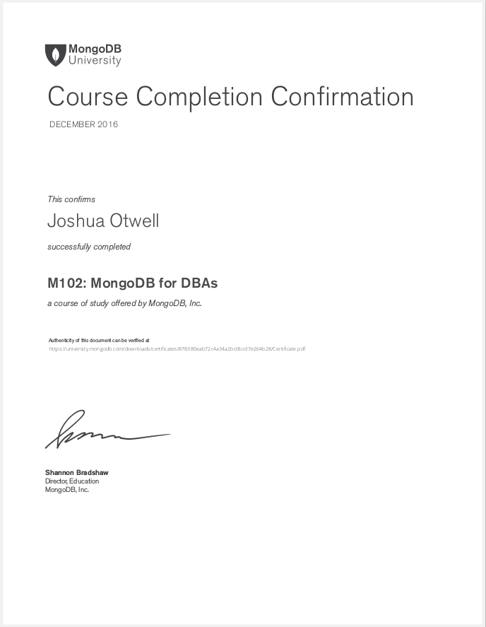 m102mongodb-for-dbas-completion-cert